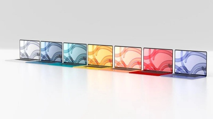 下一代 MacBook Air 將推出多款顏色