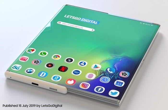 Samsung Galaxy Z Roll 可捲動智慧型手機