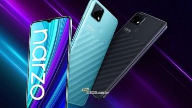 6千大電量4G手機 realme narzo 30A最快6月台灣上市