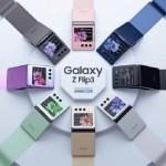 三星可折疊的Galaxy Z Flip 3將有8種顏色