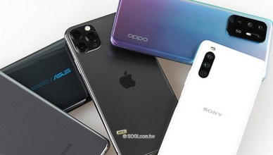 台灣7月手機銷售排行出爐 Sony逆勢成長擠進前四強
