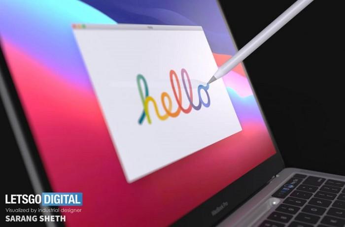 MacBook Pro將配備可收納Apple Pencil的鍵盤底座