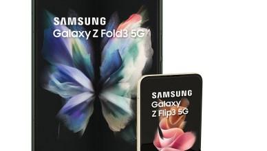 三星Galaxy Z Fold3、Z Flip3 5G摺疊旗艦機 台灣大8/26中午開放預購