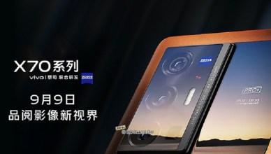 再度攜手蔡司!vivo X70系列手機9/9中國發表