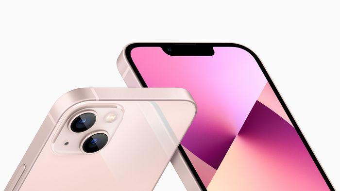 iPhone 13 mini 與 iPhone 13正反面