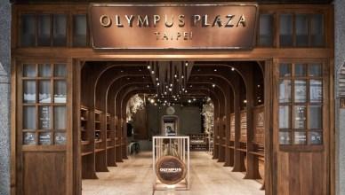 OLYMPUS旗艦店翻玩在地美學 國際設計舞台大放異彩