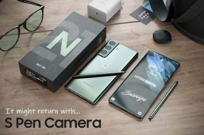 Samsung Galaxy Note智慧型手機將配備S Pen相機