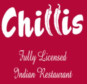 Chillis online ordering ONLINE ORDERING takeaway menu for collection or Delivery. Phone number and opening hours / times