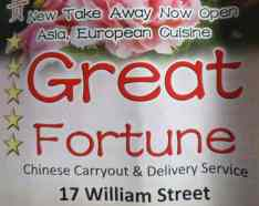 Great Fortune Chinese William St Derry - Menu, Order, online, Takeaway, take-away, take away, delivery, phone, Number, Prices, Restaurant, Derry, Londonderry, Opening, hours, times, Facebook, Food, take out, Takeout, Take-out, My Food Delivery, myfood.delivery, Just-Eat, just eat, Nifty Nosh , i want fed, iwantfed, Iwantfed.com