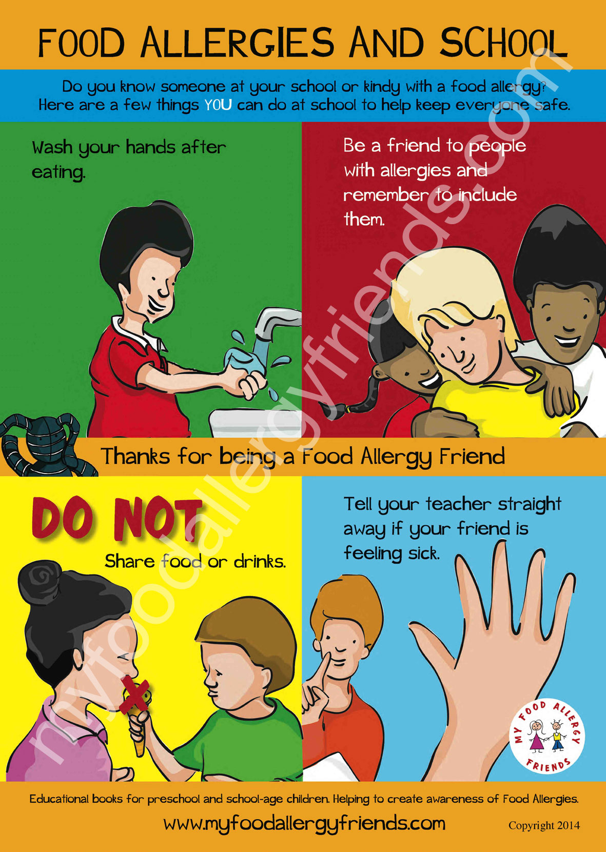 Classroom Poster For Your Kindy