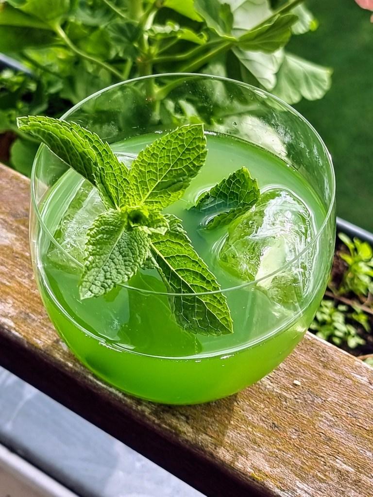 Sommerdrinken agurke aqua fresca