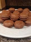 Homemade Chocolate Macarons