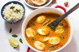 South Indian Style Egg Curry
