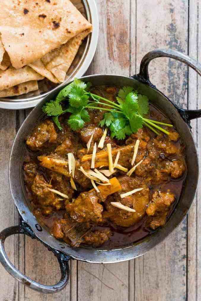 Easiest Indian Mutton Curry (Lamb Curry in a Pressure
