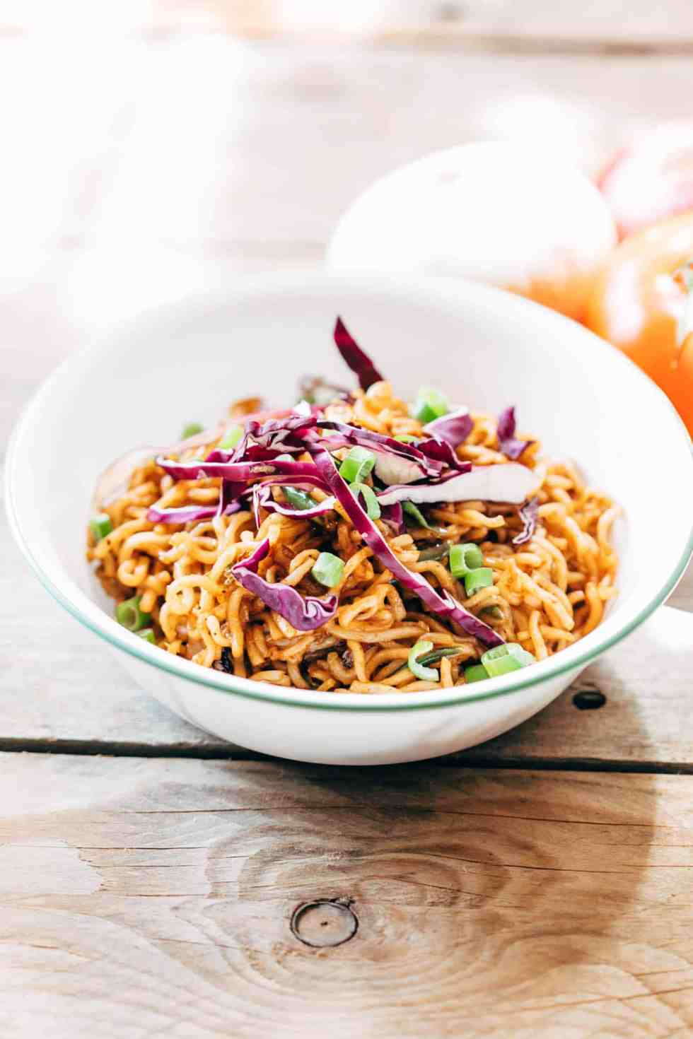 Chinese Maggi takes exactly 10 minutes to make and will remind of you of cheap street chinese noodles. Here are four amazing maggi recipes in one post that you must try - Italian Maggi, Cheese and Egg Maggi, Chinese Maggi and Spicy Masala Maggi for all your Maggi lovers!