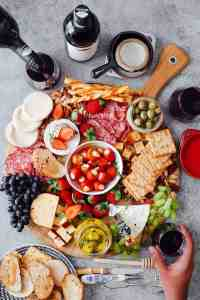 How to make the Ultimate Wine and Cheese Board on a budget