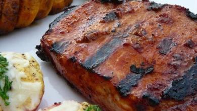 Smoky pork chops