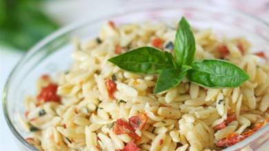 Orzo With Sun Dried Tomato