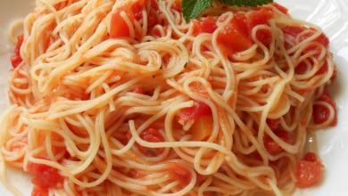 Angel Hair Pasta with Tomato