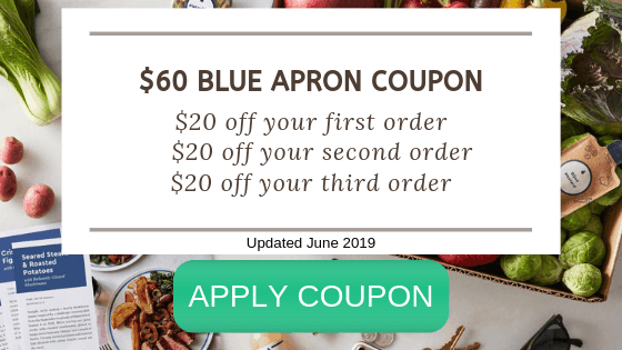 Coupon for Blue Apron