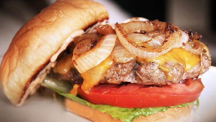 Colby Jack Cheeseburgers