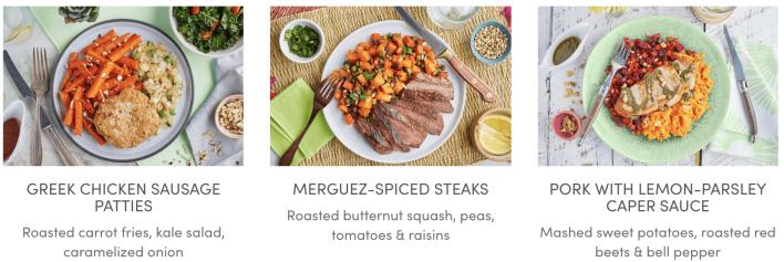Green Chef paleo Options