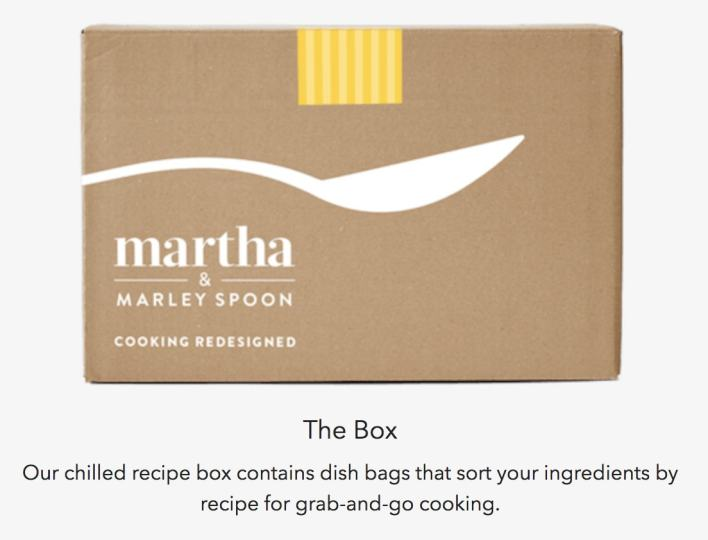 martha and marley spoon box