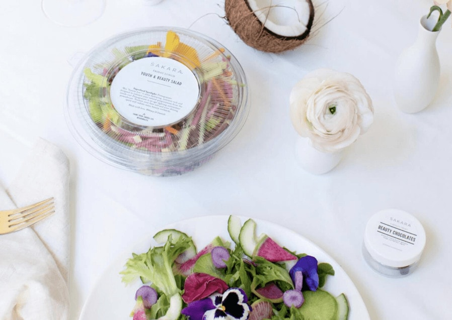 Sakara Menu Options feature
