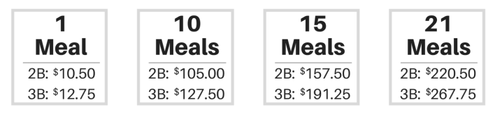 eatology guest pricing
