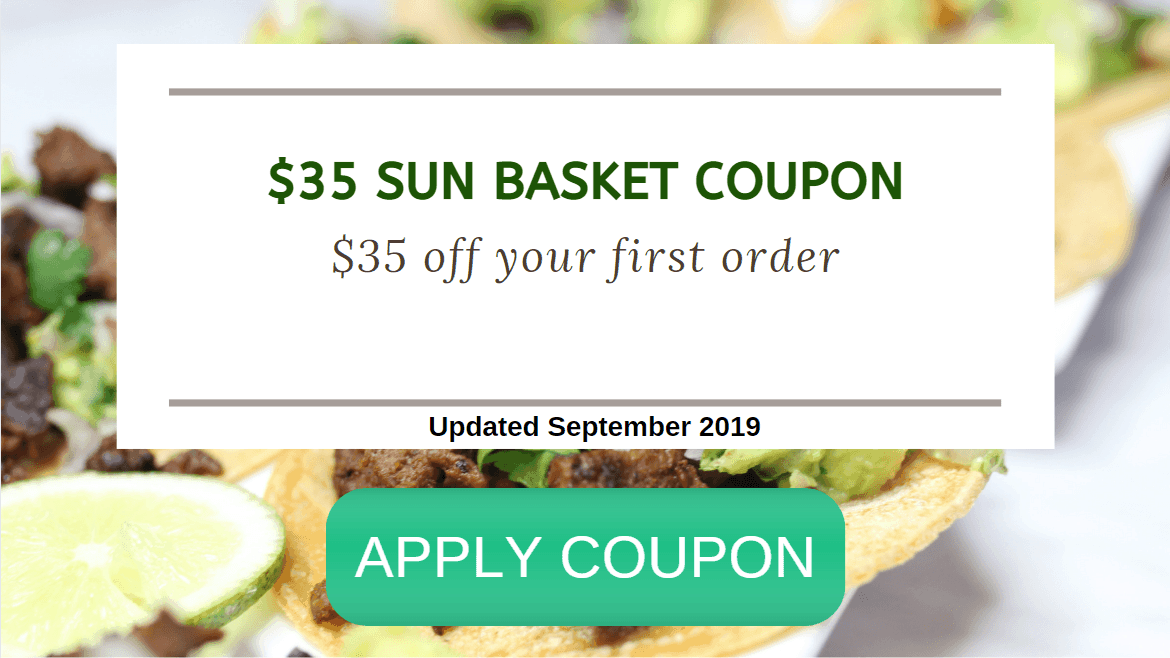 Sun Basket Discount code for $35