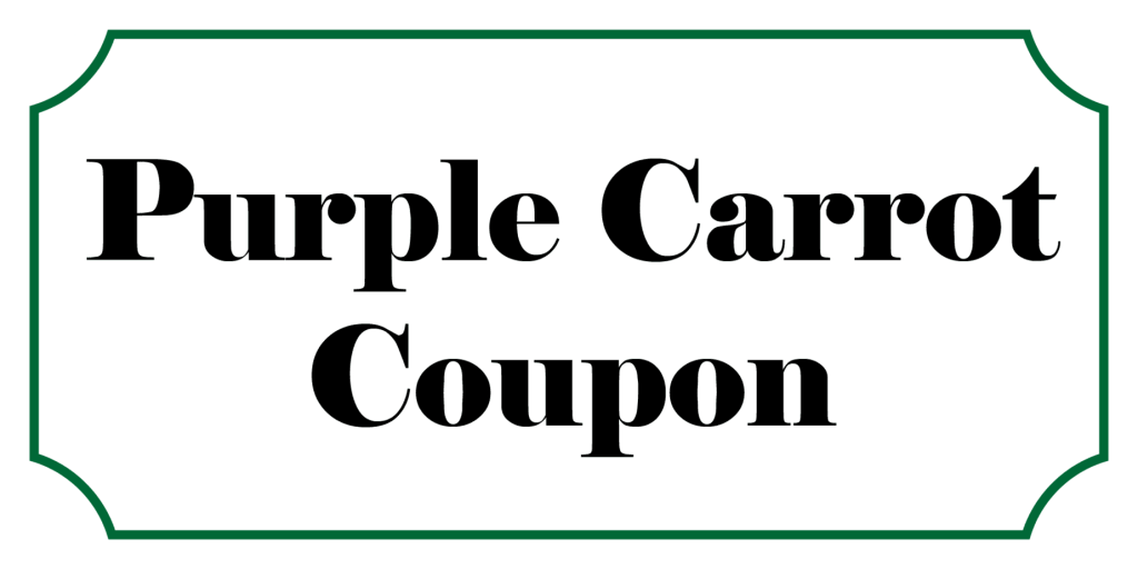 Purple Carrot Coupon Code