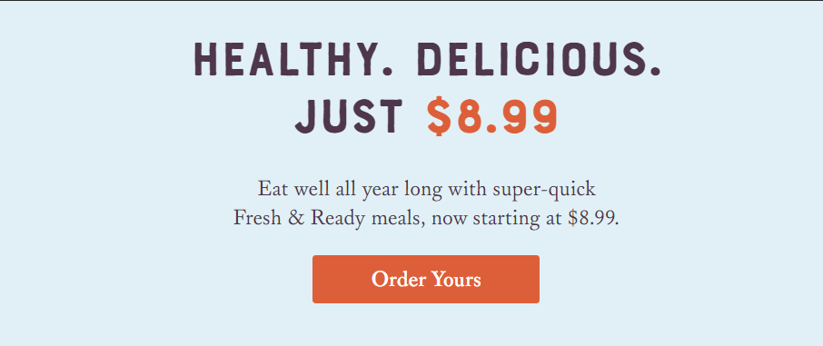 fresh and ready coupon code