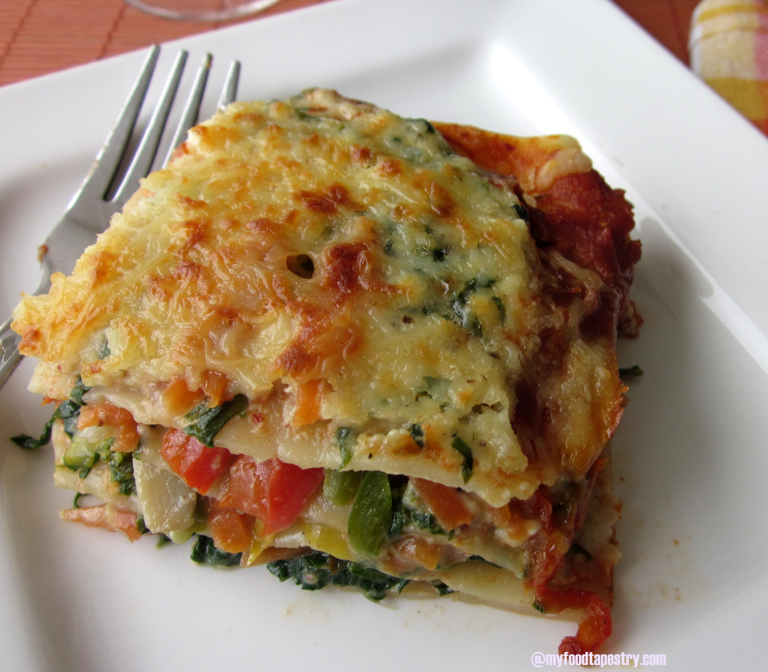Egg Free Vegetable Lasagne  MyFoodTapestry