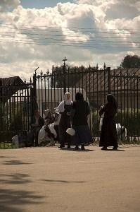Послушницы Серафимо-Дивеевского монастыря