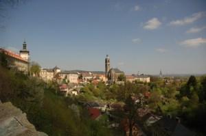 Вид на город Кутна-Гора