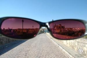 Взгляд на город сквозь очки