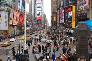 Тайм-Сквер в Нью-Йорке