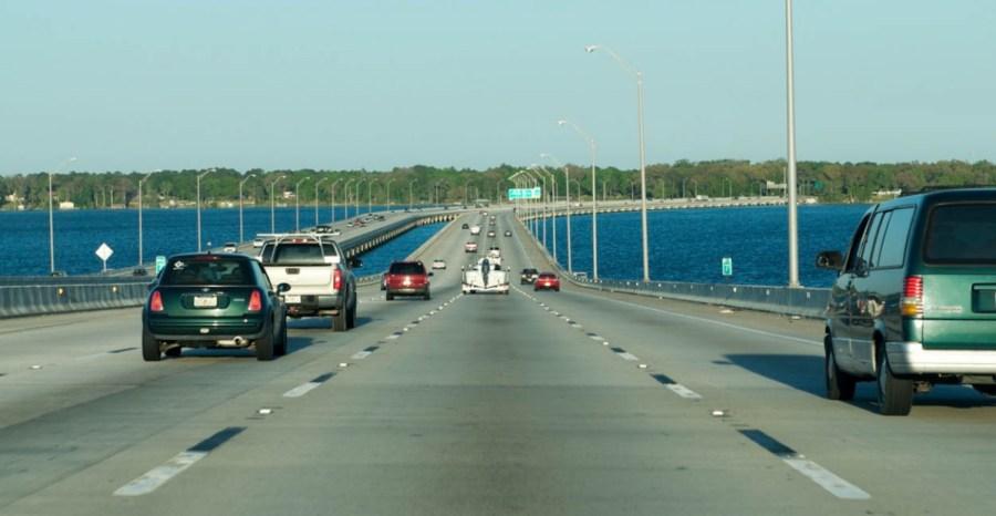По дороге во Флориду, США