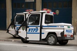 Специальная полицейская машина для городских пробок