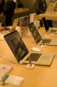 Выставочные образцы ноутбуков
