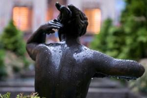 Скульптуры в Рокфеллеровском центре