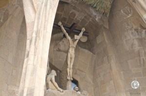 Скульптура на Фасаде Страстей Христовых