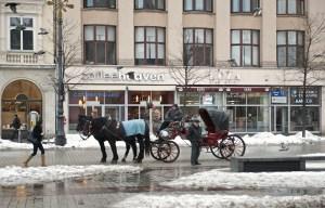Повозки в Старом городе