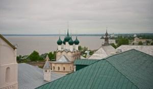 Вид на Кремль со смотровой площадки