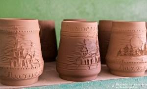 Сувенирные керамические кружки