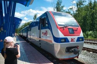 Детская железная дорога в Казани