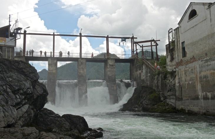 Путешествие на Алтай. Чемал и Чемальская ГЭС