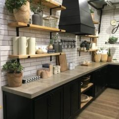 Kitchen Black Cabinets Base Units For Sale 30 Trendy Dark Cabinet Ideas Forever Builders San Diego 20 The Industrial Look