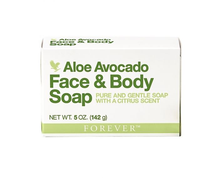 aloe avocado face & body soap