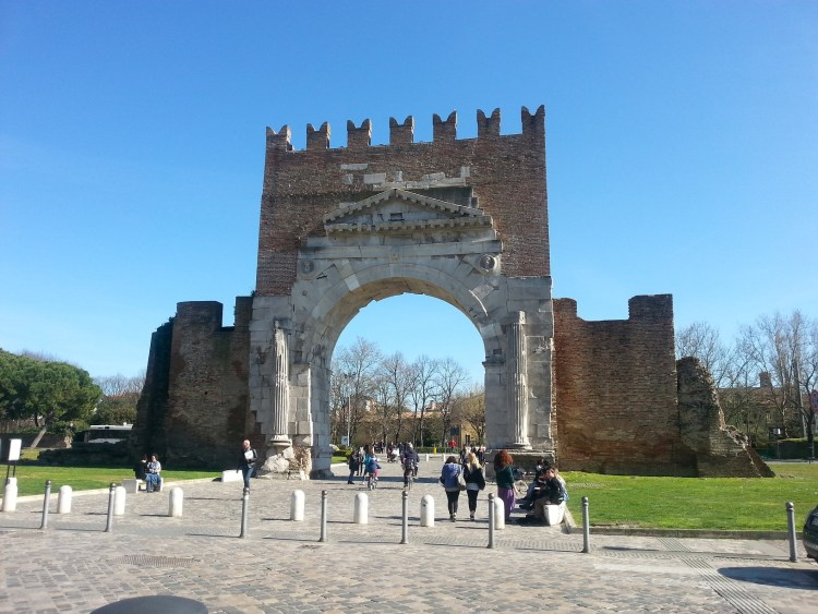 The Arch of Augustus Rimini